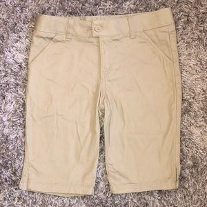Tan Bermuda shorts